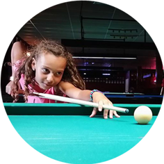 VIP Billiards is fun for any age